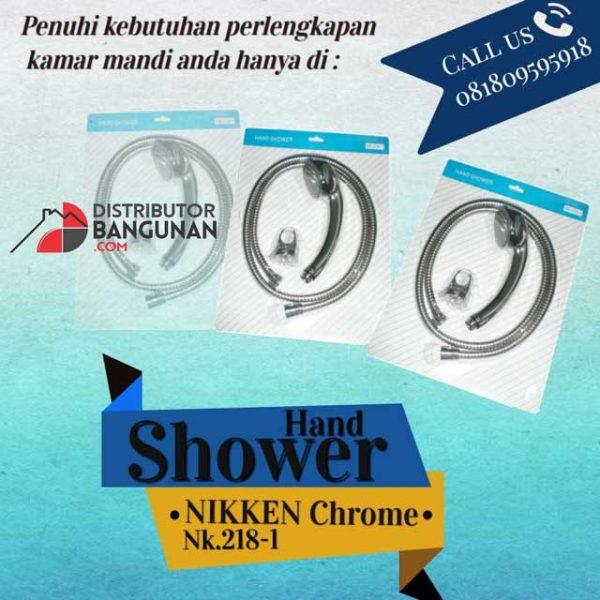 Hand-shower-nikken-chrome-nk218