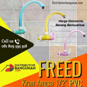 Kran-angsa-1per2-pvc-warna-freed