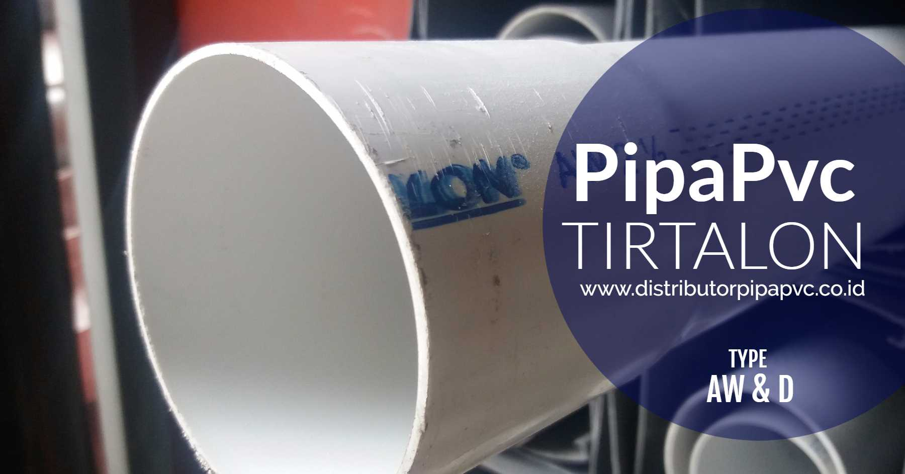 Pipa Pvc Tirtalon